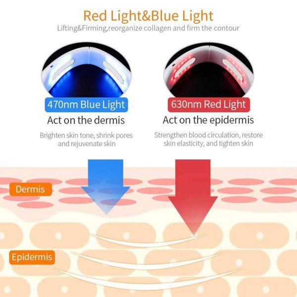 V Shape Face Lift Infrared Light, EMS, Beauty Device_Effects