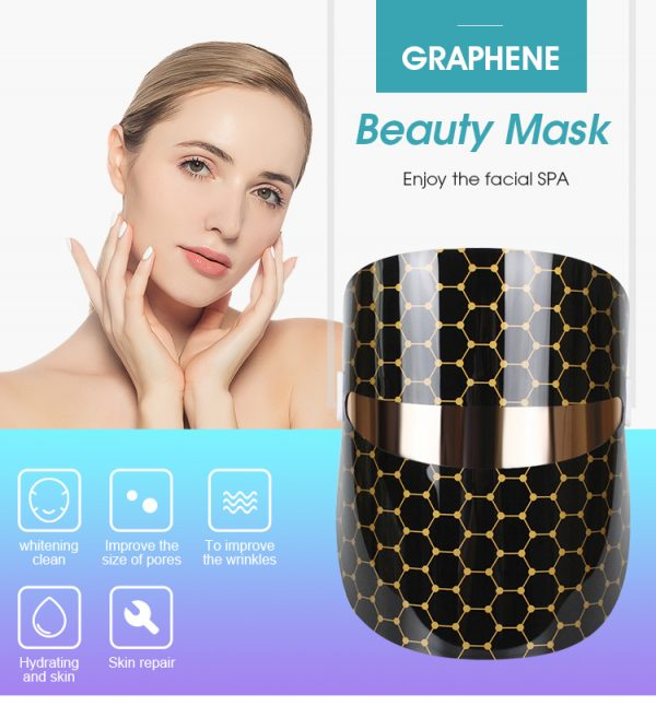 Infrared Thermal Heating Graphene Beauty Mask_features